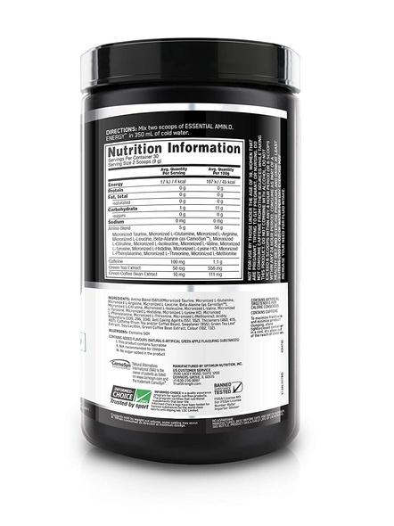 OPTIMUM AMINO ENERGY 270 GM AMINO ACIDS-GREEN APPLE-270 g-4