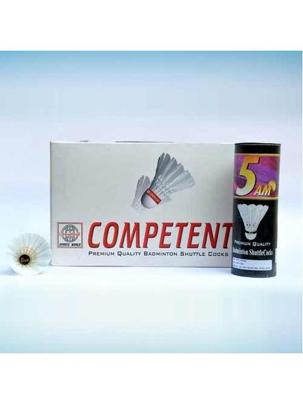 COMPETENT 5 A.M BADMINTON COCK-1