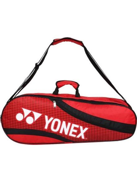 YONEX SUNR 1835 (THERMAL) BADMINTON KIT BAG (Colour may vary)-RED BLACK-3