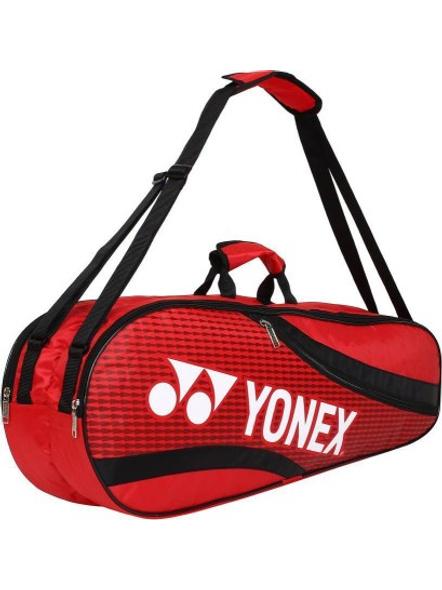 YONEX SUNR 1835 (THERMAL) BADMINTON KIT BAG (Colour may vary)-RED BLACK-4