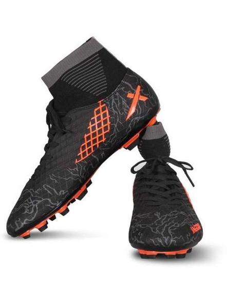 VECTOR X JAGUR FOOTBALL STUD-BLACK-ORANGE-7-4