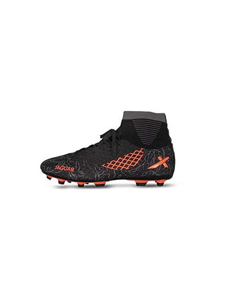 VECTOR X JAGUR FOOTBALL STUD-BLACK-ORANGE-7-5