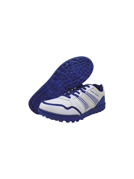 SG SHIELD X 2 CRICKET SHOES-WHITE/BLUE-10-1
