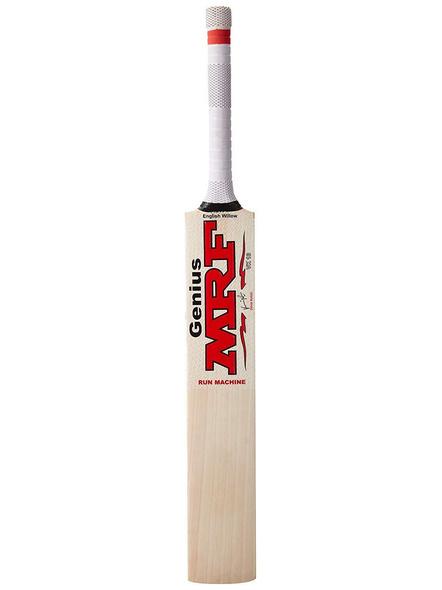 Mrf Genius Run Machine English Willow Cricket Bat-7329