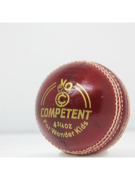 Competent Yo Kids Leather Cricket Ball-905