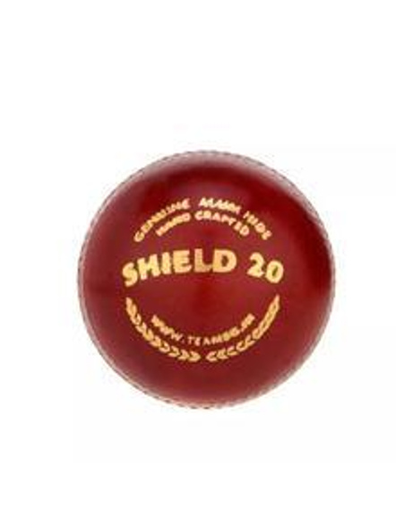 Sg Shield 20 Red Leather Cricket Ball-158