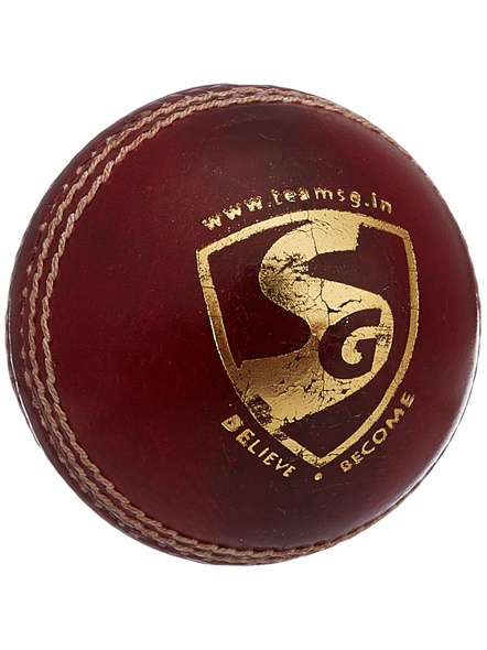 Sg Bouncer Leather Ball-RED-1 Unit-1