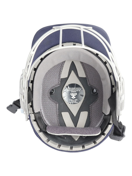 Shrey Pro Guard Stainless Steel Cricket Helmet-NAVY-1 Unit-M-1