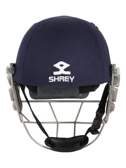 Shrey Pro Guard Stainless Steel Cricket Helmet-NAVY-1 Unit-M-2