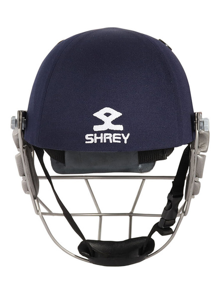 Shrey Pro Guard Stainless Steel Cricket Helmet-NAVY-1 Unit-L-2