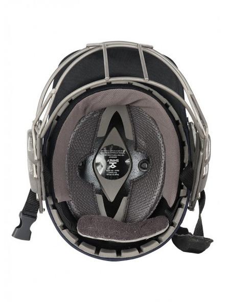 Shrey Pro Guard Titanium Visor Cricket Helmet-NAVY-1 Unit-L-1