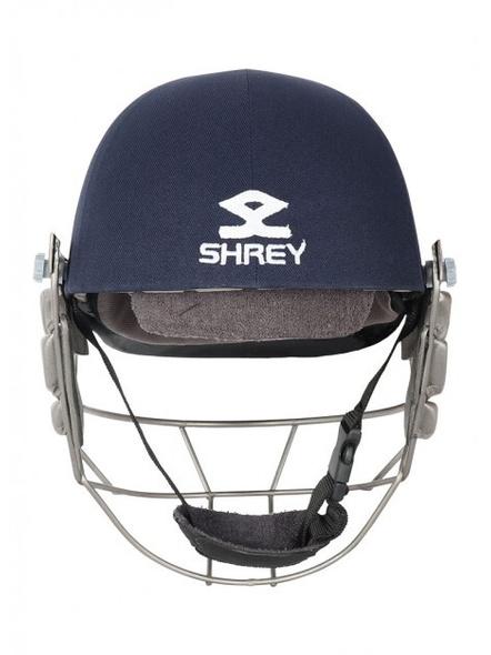 Shrey Pro Guard Titanium Visor Cricket Helmet-NAVY-1 Unit-L-2