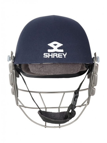 Shrey Pro Guard Titanium Visor Cricket Helmet-NAVY-1 Unit-S-2