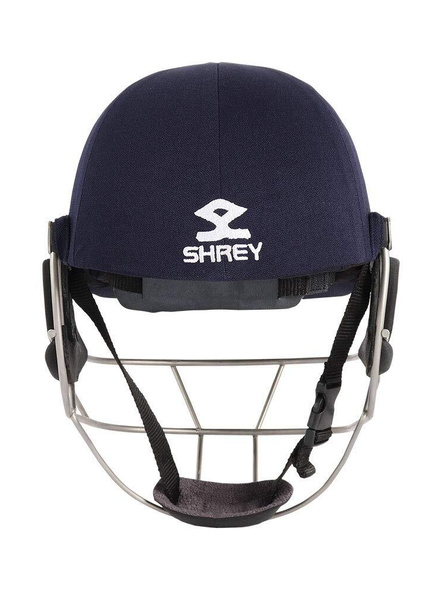 Shrey Master Class Air Stainless Steel Cricket Helmet-NAVY-1 Unit-L-2