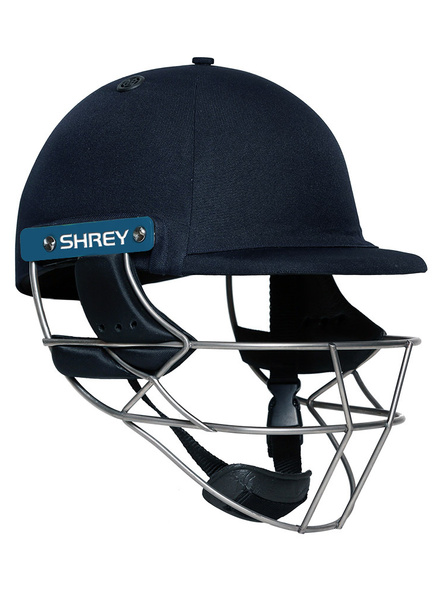 Shrey Masterclass Air Stainless 2.0 Cricket Helmet-NAVY-1 Unit-L-2