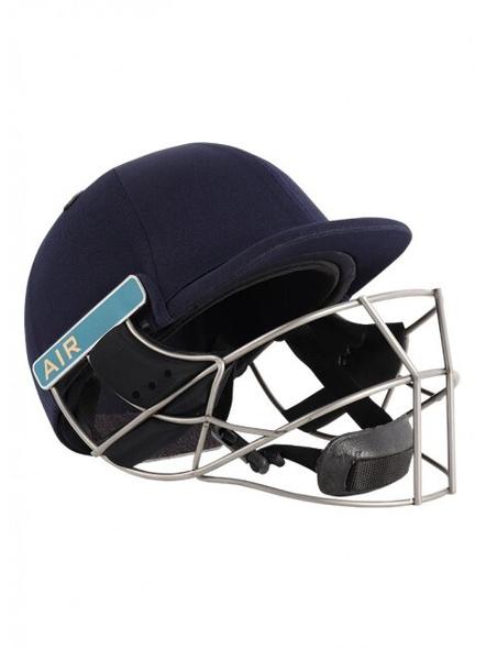 Shrey Masterclass Air Titanium Visor Cricket Helmet-NAVY-1 Unit-L-1