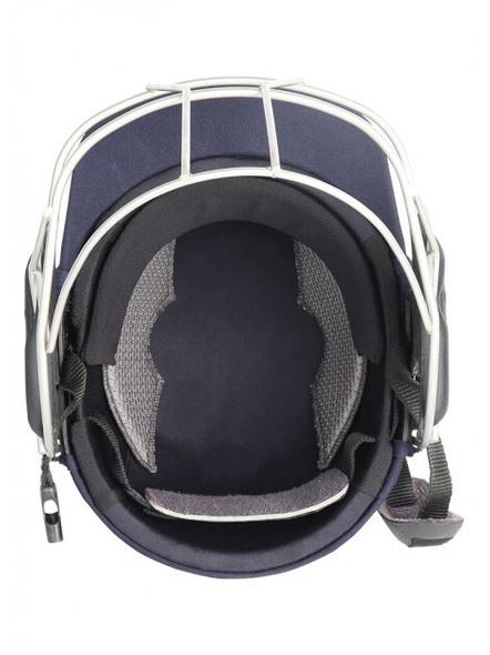 Shrey Masterclass Air Titanium Visor Cricket Helmet-NAVY-1 Unit-XL-2