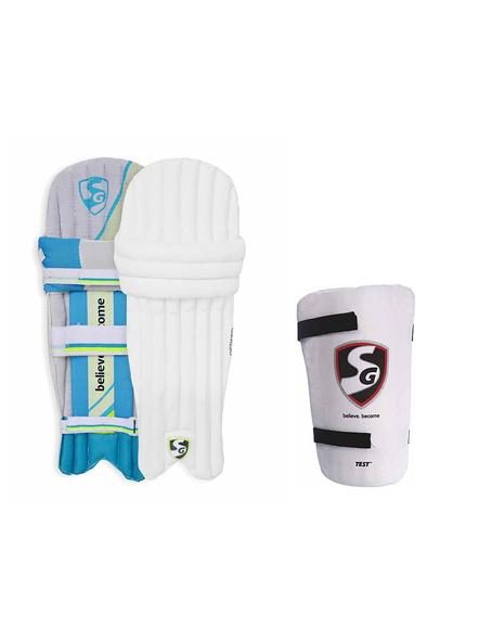 Sg Optipro Cricket Batting Legguard Pads-1 Pair-S.BOYS-1