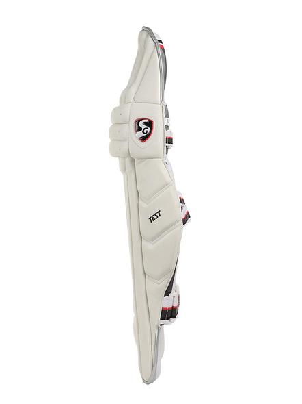 Sg Test White Batting Leg Guard-1 Pair-BOYS-2