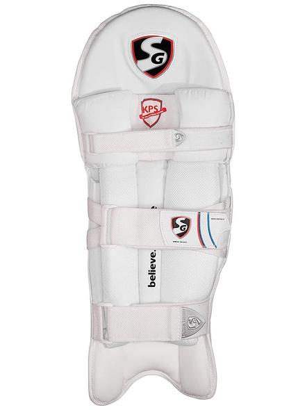 Sg Test White Batting Leg Guard-1 Pair-YOUTH-1