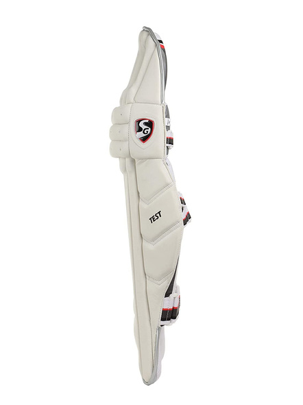 Sg Test White Batting Leg Guard-1 Pair-YOUTH-2