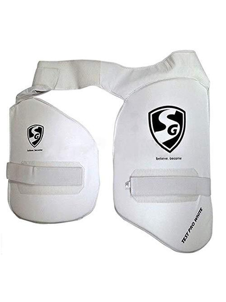 Sg Test Pro White Thigh Pads Rh (combo)-6888