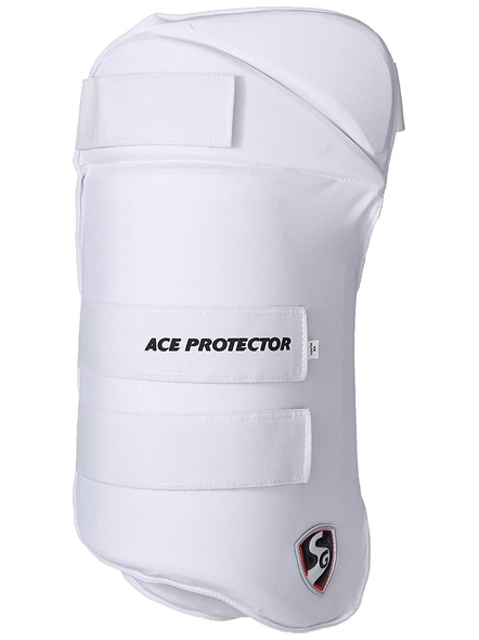 Sg Combo Ace Protector White Rh Thigh Pad-6887