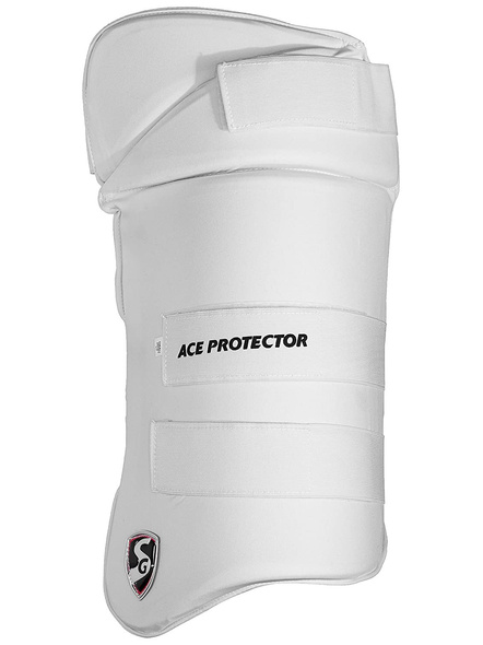 Sg Combo Ace Protector White Rh Thigh Pad-5946
