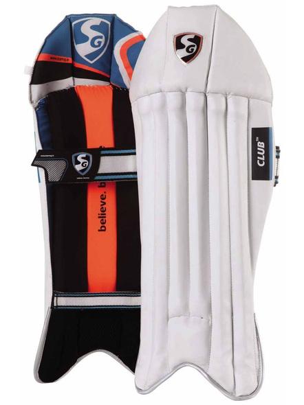 Sg Club Wicket Keeping Leg Guards-10374