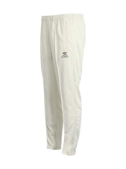 Shrey Match Trouser Cricket Pant-Off White-Xs-1