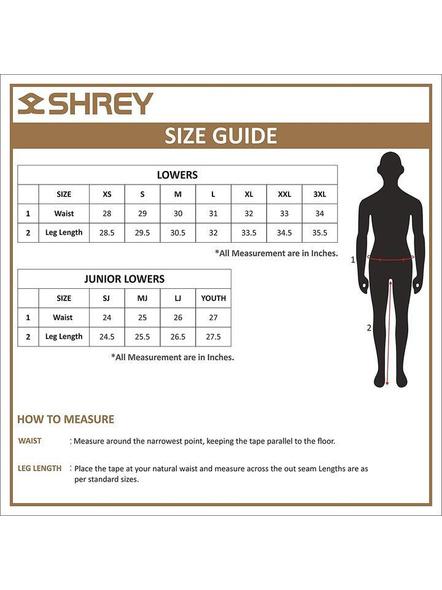 Shrey Match Trouser Cricket Pant-OFF WHITE-S-2