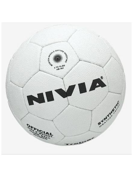 Nivia Hb-361 Trainer Hand Ball (white)-3625