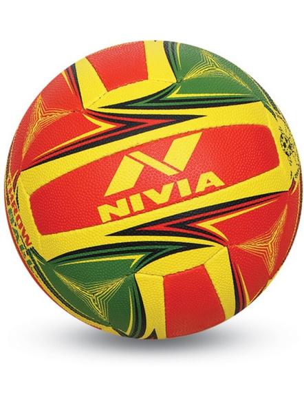 Nivia 369 Throw Ball Grained Throwball-multicolor-1032