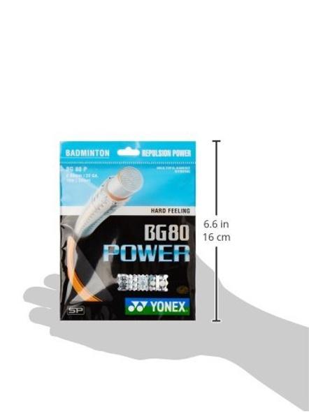 Yonex Bg 80 Power Badminton Gutting-ORANGE-.-2