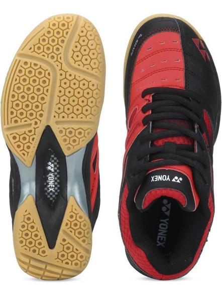 Yonex Ae 05 Badminton Shoes-BLACK AND RED-10-1