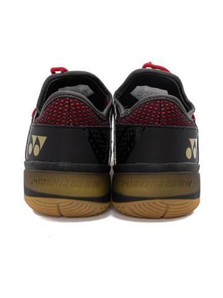 Yonex Comfort Z2 Men Badminton Shoes-BLACK AND RED-9-1