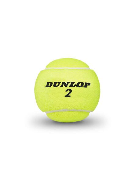 Dunlop Australian Open Tennis Ball (green)-GREEN-3 Pc Pack-1