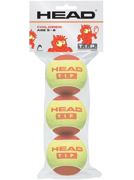 Head Tip-i Red Tennis Balls -1 Pack Of 3-902