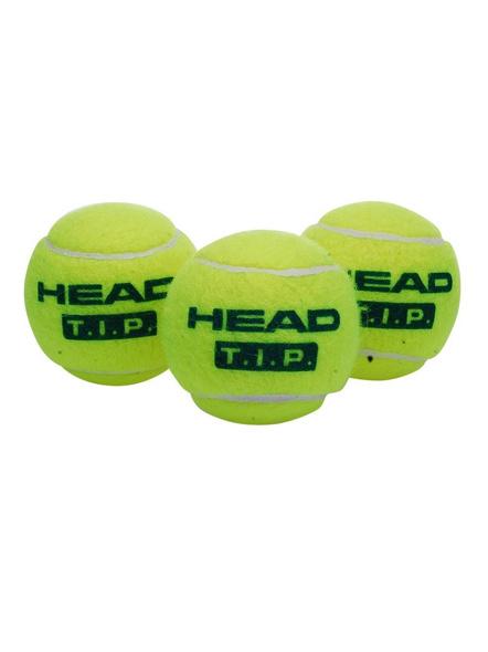 Head Tip-iii Tennis Ball (pack Of 3) (green)-GREEN-3 Pc Pack-2