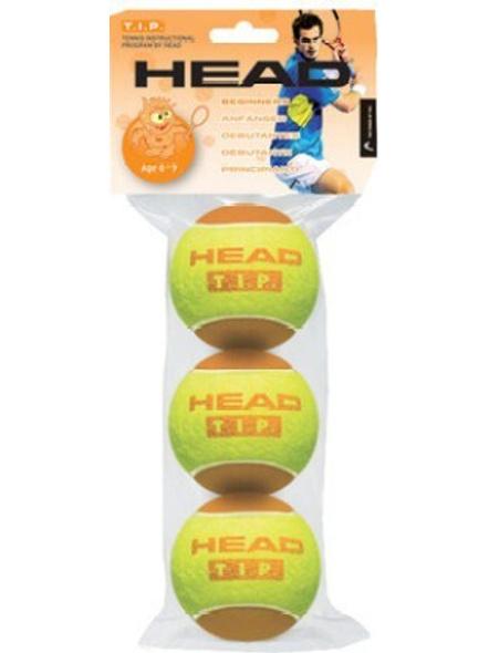 Head Tip-ii Tennis Ball (pack Of 3, Orange)-1522