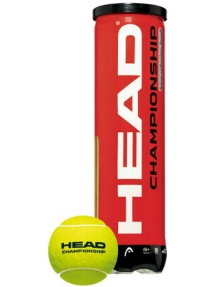 Head Championship Tennis Ball Can (pack Of 3)-GREEN-3 Pc Pack-1