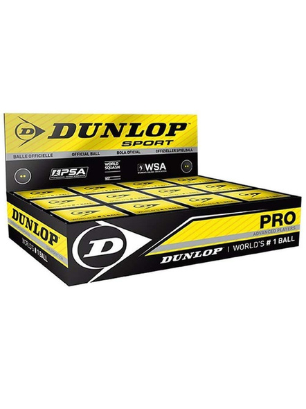 Dunlop Double Dot Squash Ball-Pack of 12 balls-151