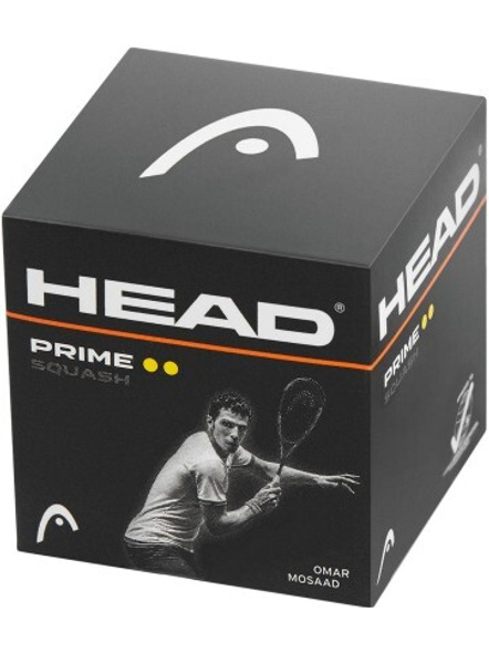 Head Prime Squash Double yellow dot  Ball-907