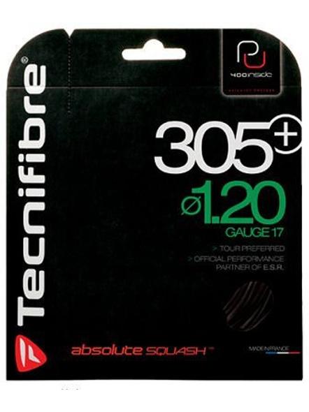 Tecnifibre 305 Plus Noir I.20 (pu) Syntht Squash Gutting-2951