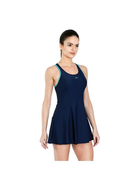 Speedo 802878b369 Swim Costumes Ladies Racerback Frill-34-2