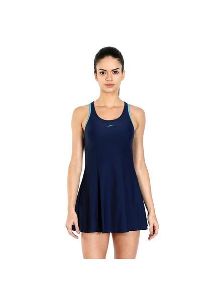 Speedo 802878b369 Swim Costumes Ladies Racerback Frill-13424