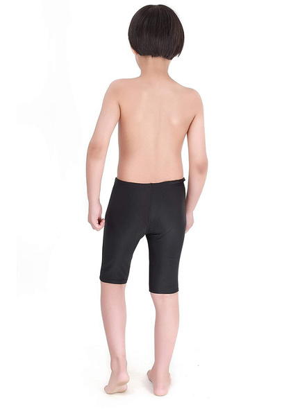 Tyr Boys In Eco Solid Jammer Swim Costumes Boys Jammer-24-Black-2