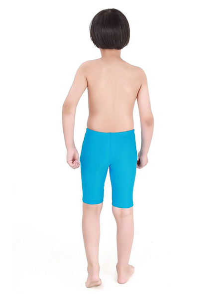 Tyr Boys In Eco Solid Jammer Swim Costumes Boys Jammer-Sea Blue-28-1