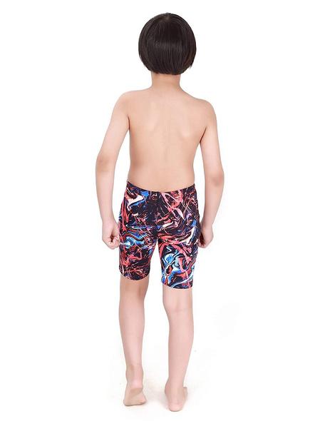 Tyr Boys In Penello Jammer Swim Costumes Boys Jammer-Multi Black-28-2