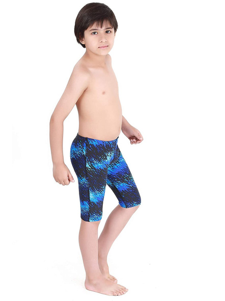 Tyr Boys In Perseus Jammer Swim Costumes Boys Jammer-Blue/black-28-2